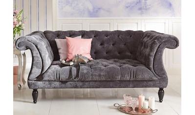Max Winzer® Chesterfield-Sofa »Isabelle«, mit edler Knopfheftung, Breite 200 cm kaufen