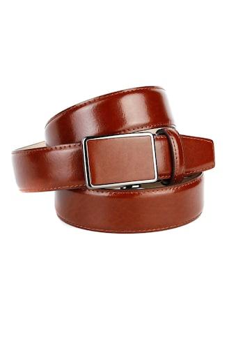 Anthoni Crown Ledergürtel, Trendige Gürtel für Anzüge und Freizeit kaufen