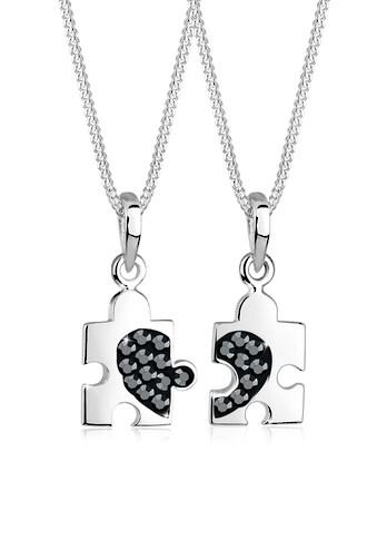 Elli Ketten-Set »Set Partner Puzzle Kristalle 925 Silber« kaufen