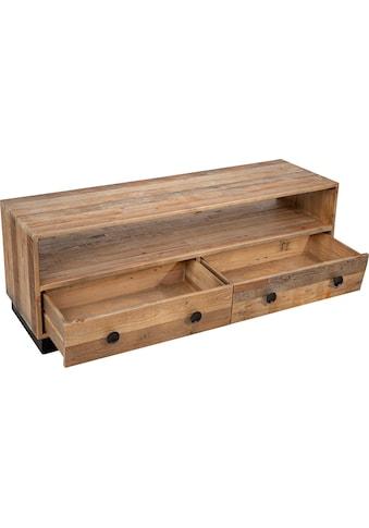 SIT Lowboard »Old Pine«, TV-Board aus recyceltem Pinienholz, Fernsehtisch in Vintage... kaufen