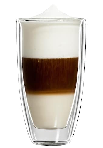 Bloomix Latte-Macchiato-Glas »Roma Grande«, (Set, 4 tlg.), Doppelwandig, 4-teilig kaufen