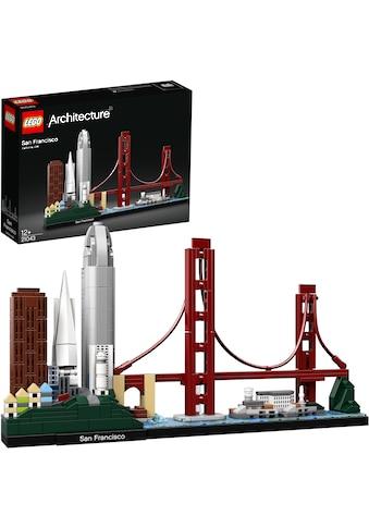 LEGO® Konstruktionsspielsteine »San Francisco (21043), LEGO® Architecture«, (565 St.),... kaufen