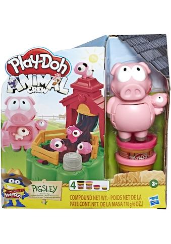 Hasbro Knete »Play-Doh Animal Crew, Pigsley Kleine Schweinchen« kaufen