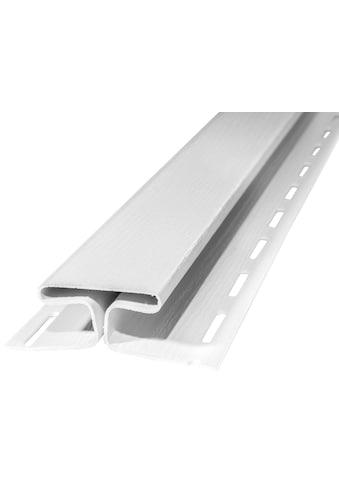 BAUKULIT Set: Verbindungsprofile »SOFFIT Weiß«, für Dachüberstand, 2er Set, je 1,525 m kaufen