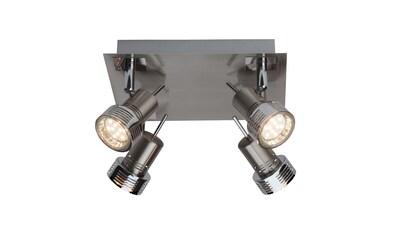 Brilliant Leuchten Kassandra LED Spotplatte 4flg eisen/chrom kaufen