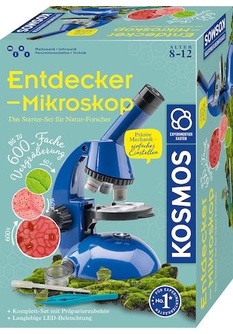 Kosmos Experimentierkasten »Entdecker-Mikroskop« kaufen