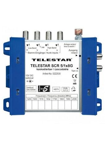 TELESTAR SAT - Multischalter, Unicable »SCR 5/1x8 G« kaufen