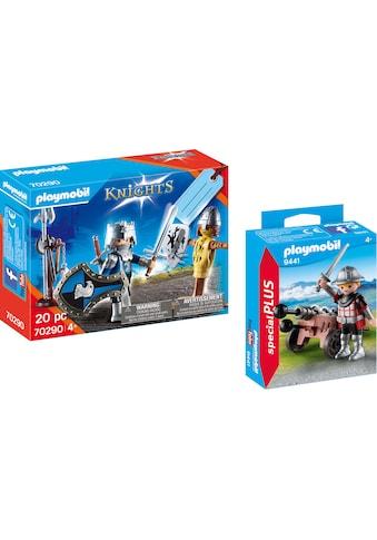 Playmobil® Konstruktions-Spielset »Ritter mit Kanone (9441), Special Plus und... kaufen