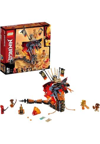 "LEGO® Konstruktionsspielsteine ""Feuerschlange (70674), LEGO® NINJAGO®"", Kunststoff, (463 - tlg.) kaufen"