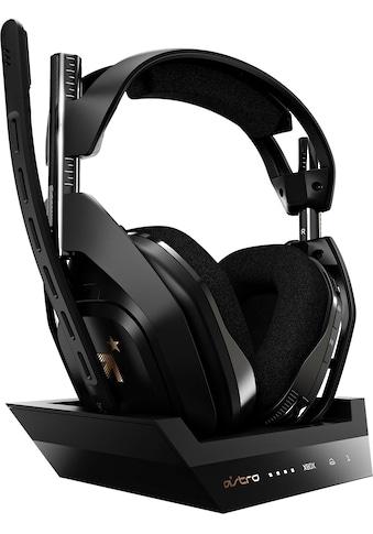ASTRO Gaming-Headset »A50 Gen4 PS4/PS5«, Rauschunterdrückung kaufen