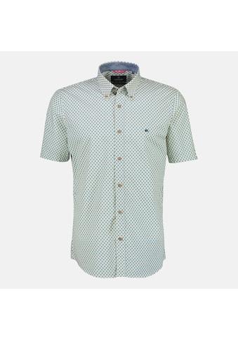 LERROS Kurzarmhemd, mit modischem Alloverprint und Button-Down-Kragen kaufen