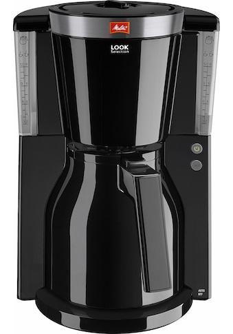 Melitta Filterkaffeemaschine Look® Therm Selection 1011 - 12, Papierfilter 1x4 kaufen