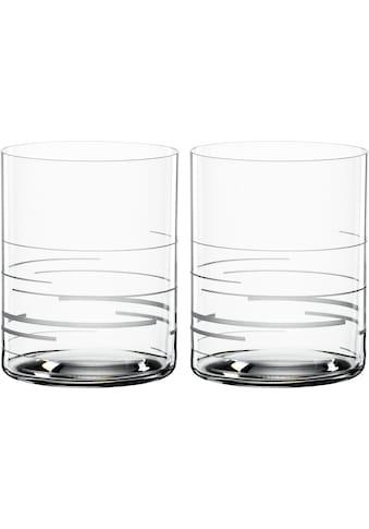 SPIEGELAU Whiskyglas »Lines«, (Set, 2 tlg.), Dekor graviert, 265 ml, 2-teilig kaufen