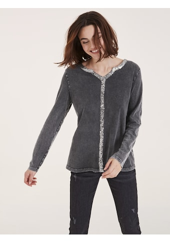 Shirt mit Pailettenbesatz kaufen