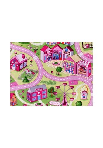 Andiamo Kinderteppich »Coupon Sweet Town«, rechteckig, 3 mm Höhe, Meterware, Breite... kaufen