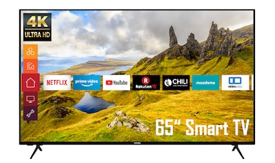 "Telefunken LED-Fernseher »XU65K529«, 164 cm/65 "", 4K Ultra HD, Google TV-Smart-TV kaufen"