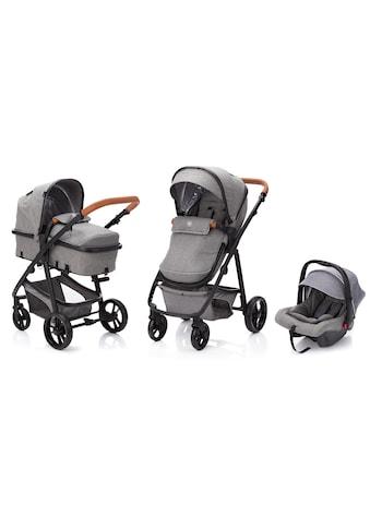 Fillikid Kombi-Kinderwagen »Panther, hellgrau«, 22 kg, mit Babyschale kaufen