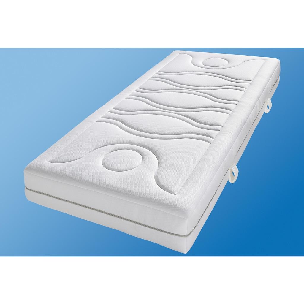 Breckle Taschenfederkernmatratze »TFK First Quality«, 1000 Federn, (1 St.), 7-Zonen Taschenfederkernmatratze, ein Plus an Komfort und Design, Made in Germany