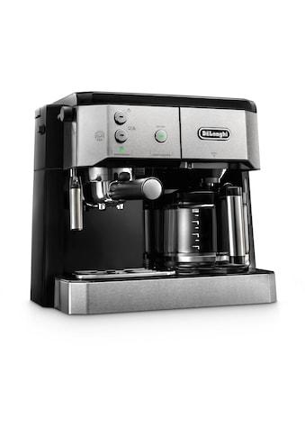 De'Longhi Siebträger-/Filterkaffeemaschine »BCO 421.S«, Papierfilter kaufen