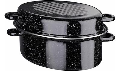 GSW Bräter, Stahl-Emaille, (1 tlg.), Induktion kaufen