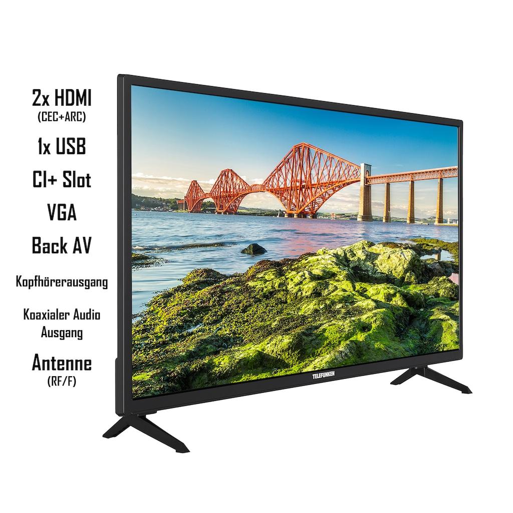 "Telefunken LED-Fernseher »XH24J501V«, 60 cm/24 "", HD-ready, Smart-TV"