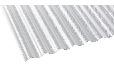 GUTTA Wellplatte Polycarbonat klar, BxL: 90x200 cm kaufen