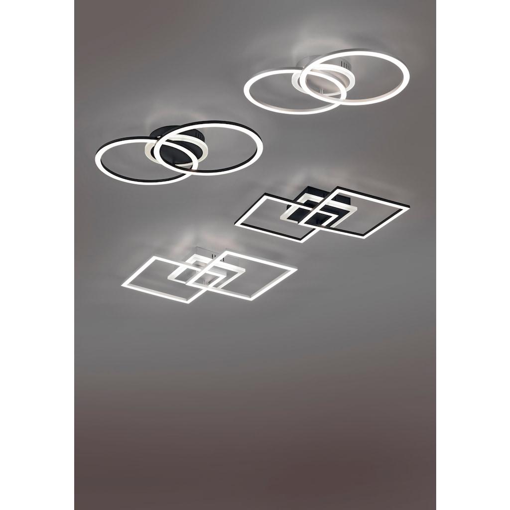 TRIO Leuchten LED Deckenleuchte »VENIDA«, LED-Board, 1 St., Warmweiß, LED Deckenlampe