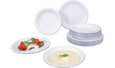 Eschenbach Tafelservice »Today - Westerland«, (Set, 12 tlg.), Made in Germany kaufen