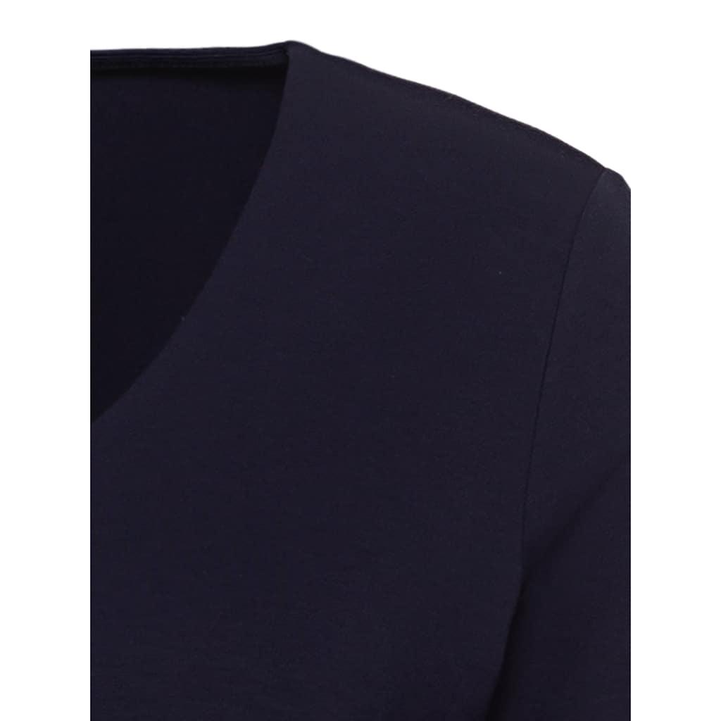 Olsen V-Shirt, mit ¾-Ärmeln