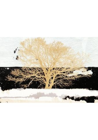 my home Wandbild »ALESSIO APRILE / Golden Tree«, (auf 12 mm MDF Platte, 100/1,2/70 cm) kaufen