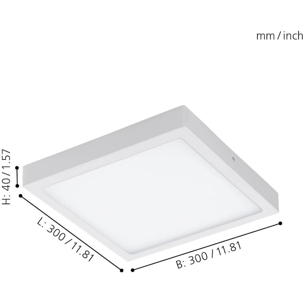 EGLO Aufbauleuchte »FUEVA-C«, LED-Board, Neutralweiß-Tageslichtweiß-Warmweiß-Kaltweiß, EGLO CONNECT, Steuerung über APP + Fernbedienung,BLE, CCT, RGB