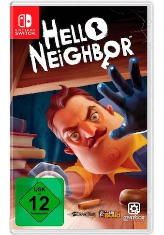 U&I Entertainment Spiel »Hello Neighbor«, Nintendo Switch kaufen