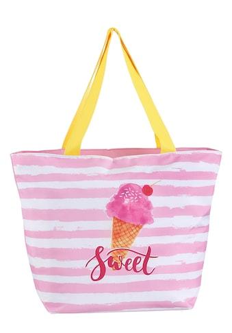 fabrizio® Strandtasche, mit viel Stauraum für Badeutensilien kaufen