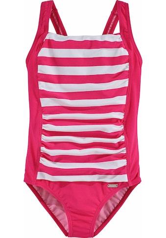 Bench. Badeanzug, mit trendigen Streifen kaufen