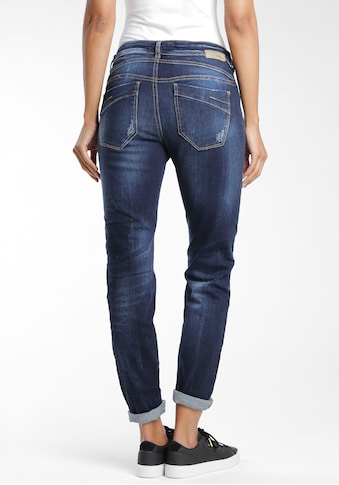 GANG Straight-Jeans »Rubinia«, mit Used-Effekten kaufen