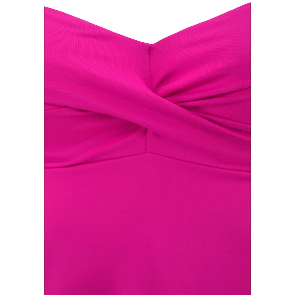 s.Oliver Beachwear Bügel-Tankini-Top »Spain«, mit Wickeloptik