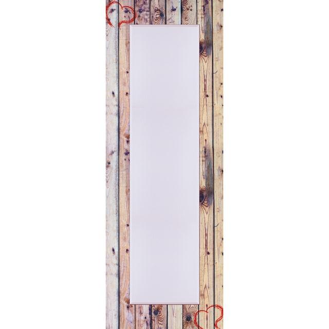 Home affaire Spiegel »Alte Holzwand mit Herz«