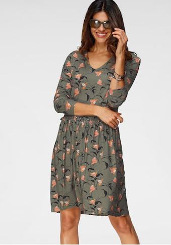 Boysen's Jerseykleid, mit feinem Blumendruck kaufen