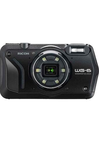 Ricoh »WG - 6« Outdoor - Kamera (RICOH Objektiv, 11 Elemente in 9 Gruppen (5 asphärische Elemente), 20 MP, 5x opt. Zoom) kaufen