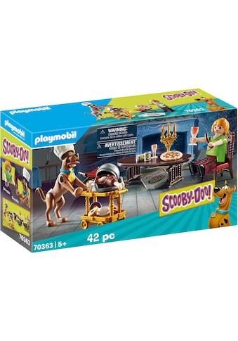 Playmobil® Konstruktions-Spielset »SCOOBY-DOO! Abendessen mit Shaggy (70363),... kaufen