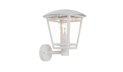 Brilliant Leuchten Riley Außenwandleuchte stehend weiß kaufen