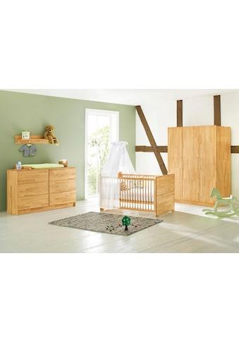 Pinolino® Babyzimmer-Komplettset »Natura«, (Set, 3 St.), extrabreit groß; mit... kaufen