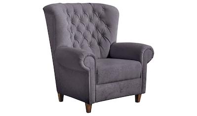 Max Winzer® Chesterfield-Sessel »Victoria«, mit edler Knopfheftung kaufen