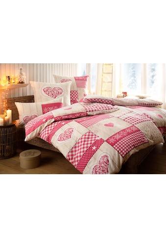 Home affaire Collection Bettwäsche »Janina«, im Patchwork-Design kaufen