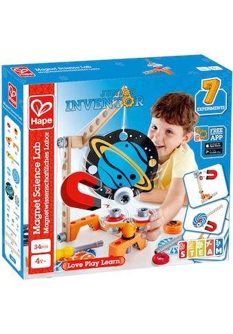 Hape Konstruktions-Spielset »Junior Inventor Magnetwissenschaftliches Labor«, (34 St.) kaufen