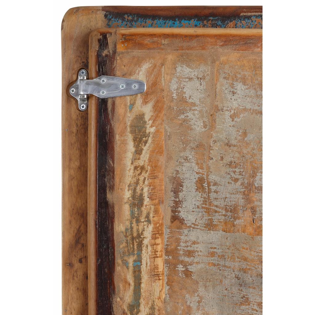 SIT Stauraumschrank »Fridge«, Höhe 190 cm, Shabby Chic, Vintage