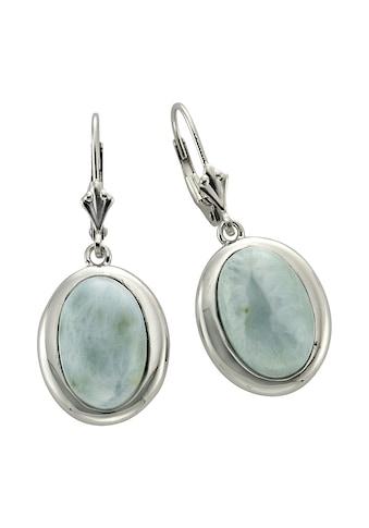 Zeeme Paar Ohrhänger »925/- Sterling Silber Larimar«, rhodiniert kaufen