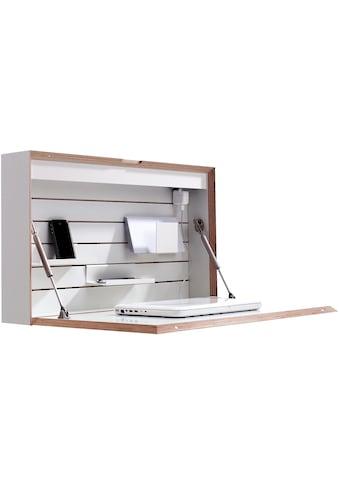 Müller SMALL LIVING Wandsekretär »FLATBOX«, hängend, wahlweise LED Beleuchtung mit Touch-Funktion oder An/Aus-Schalter inklusive integrierter Steckdose kaufen