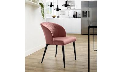 COUCH♥ Esszimmerstuhl »Relax«, mit feinem Samtbezug, COUCH Lieblingsstücke kaufen