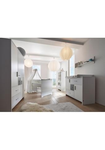 Schardt Babyzimmer-Komplettset »Candy Grey«, (Set, 3 St.), Made in Germany; mit... kaufen